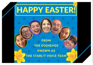HAPPY EASTER! FROM STARLIT VOICE